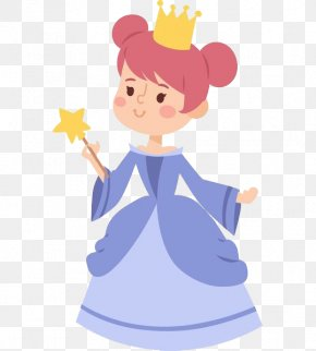 The Little Princess Holding The Little Star - Princess Photography Royalty-free Illustration PNG
