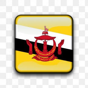 Flag - Flag Of Brunei National Flag Flags Of The World PNG