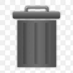 Trash Can - Rubbish Bins & Waste Paper Baskets Recycling Bin PNG