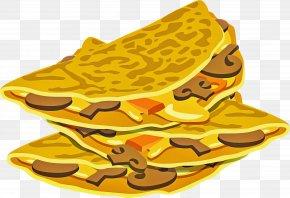 Dish Breakfast - Yellow Breakfast Dish PNG