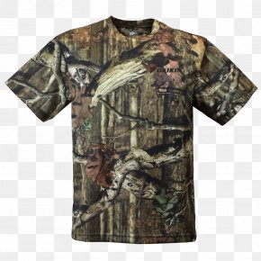T-shirt - T-shirt Hoodie Clothing Crew Neck Camouflage PNG