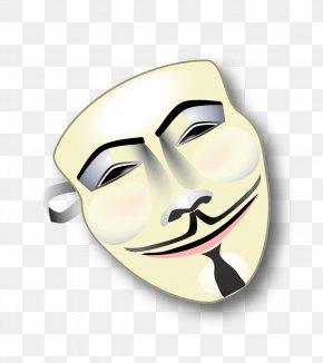 Anonymous Mask - T-shirt Privacy Anonymous Clip Art PNG
