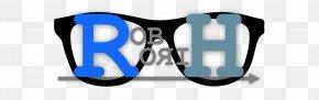Bromance - Goggles Logo Sunglasses PNG