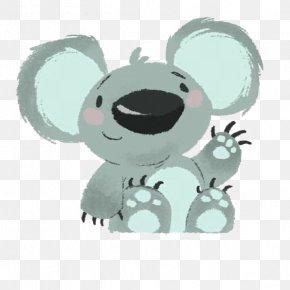 Cartoon Koala - Koala Drawing Illustration PNG