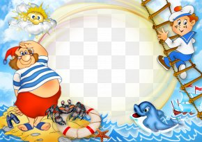 Summer Pics For Kids - Picture Frame Child Photography Clip Art PNG
