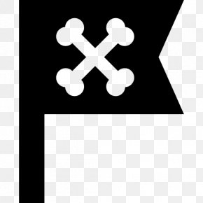 Jolly Vector - Jolly Roger Flag PNG