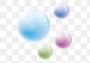 Colorful Bubble - Sphere Wallpaper PNG