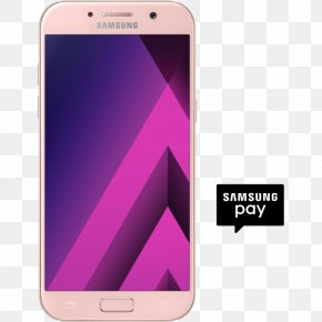 Samsung - Samsung Galaxy A7 (2017) Samsung Galaxy A3 (2017) Samsung Galaxy S7 Smartphone PNG