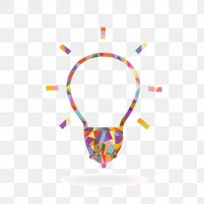Vector Bulb Lines - Incandescent Light Bulb Creativity PNG
