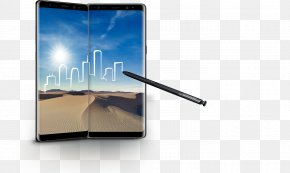Samsung Galaxy Note 8 - Samsung Galaxy Note 8 Smartphone Stylus Phablet PNG