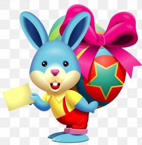 Easter - Easter Bunny Easter Egg Resurrection Of Jesus Clip Art PNG