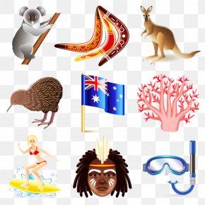 Australia Vector Material - Australia Icon PNG