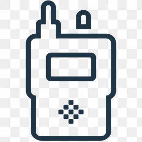 Intercom Icon - Communication Handheld Two-Way Radios Technology Intercom PNG
