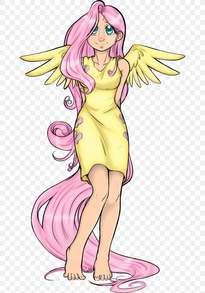 Fluttershy Pony Finger Homo Sapiens Equestria, PNG, 662x1168px, Watercolor, Cartoon, Flower, Frame, Heart Download Free
