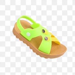 Slip Flat Sandals - Slipper Sandal Flip-flops Jelly Shoes PNG