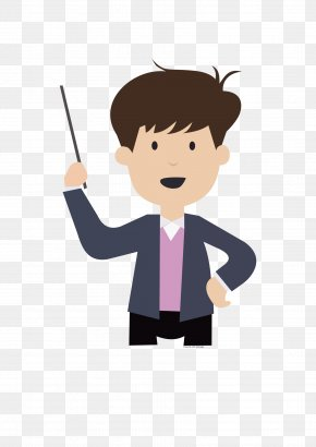 Teacher - Teacher Boy Clip Art PNG