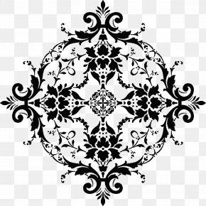 Design - Floral Design Black And White Visual Arts Clip Art PNG