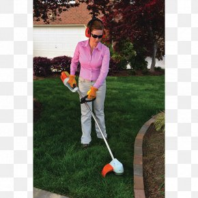 Grass Curve - String Trimmer Stihl Chainsaw Lawn Mowers PNG