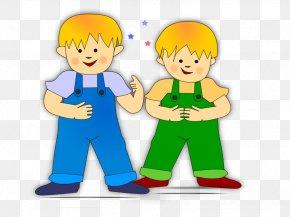 Preschoolers Cliparts - Twin Brother Clip Art PNG