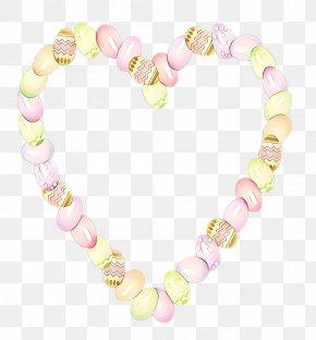 Jewelry Making Bead - Body Jewelry Pink Fashion Accessory Heart Jewellery PNG