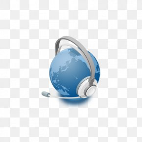 Earth Wearing Headphones - Telephone Mobile Phone Email Mobile Telephony Computing PNG