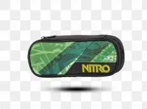 Pencil - Pen & Pencil Cases Green Nitro Snowboards Bag PNG