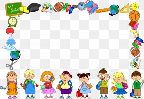 School - School Picture Frames Education Clip Art PNG
