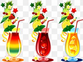 Cocktail - Cocktail Adobe Illustrator Clip Art PNG