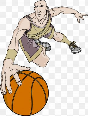 Basketball Player - Basketball Player Athlete Sport Slam Dunk PNG