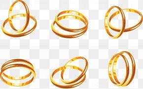 Ring - Wedding Ring Gold Clip Art PNG