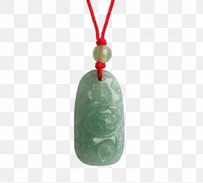 Stones Zodiac Pig - Jade Pendant Necklace Jewellery PNG