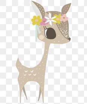 Deer - Deer Sticker Wall Decal Paper Bedroom PNG