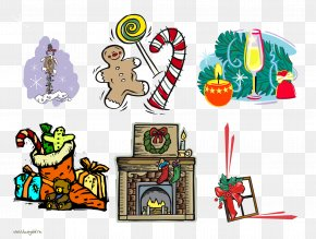 Present - Christmas Stockings Clip Art PNG