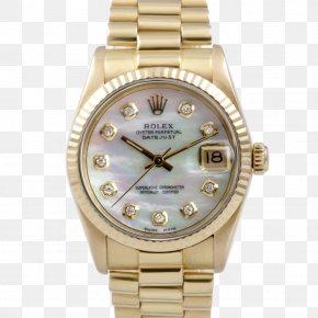 Rolex - Rolex Datejust Rolex Daytona Watch Colored Gold PNG