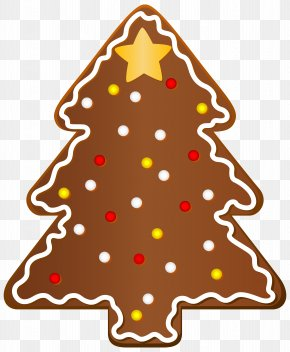 Christmas Cookie Tree Clipart Image - Gingerbread House Christmas Cookie Gingerbread Man Clip Art PNG