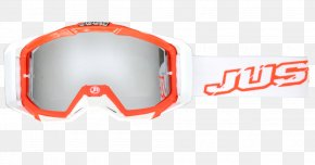 GOGGLES - Goggles Glasses Red Motocross Blue PNG