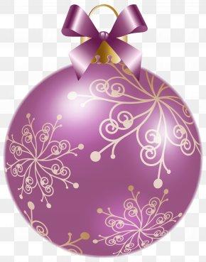 Violet - Christmas Ornament Candy Cane Christmas Decoration Clip Art PNG