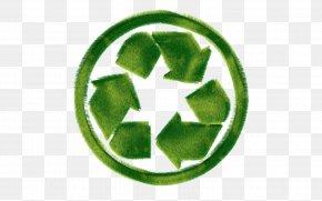 Green Recycling - Environmentally Friendly Recycling Symbol Environmental Protection Clip Art PNG