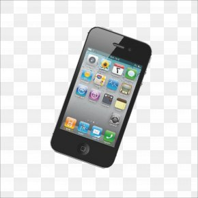 Iphone Mobile Phone - IPhone 4S Smartphone Feature Phone Apple PNG