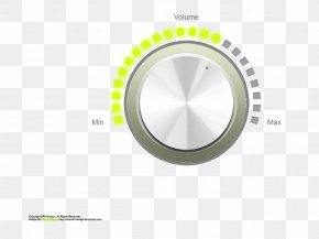 Rotary Volume Control Buttons - Graphical User Interface Control Knob User Interface Design PNG