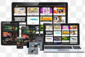 Multi Monitor - Over-the-top Media Services Television Video Advertising HTML5 Video PNG