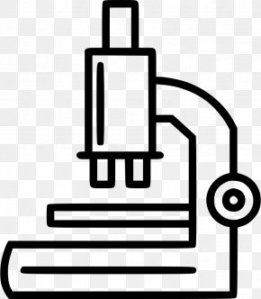 Microscope Icon - Vector Graphics Stock Illustration Clip Art PNG