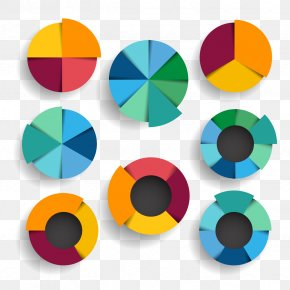Vector PPT Pie Chart - Graphic Design Pie Chart PNG