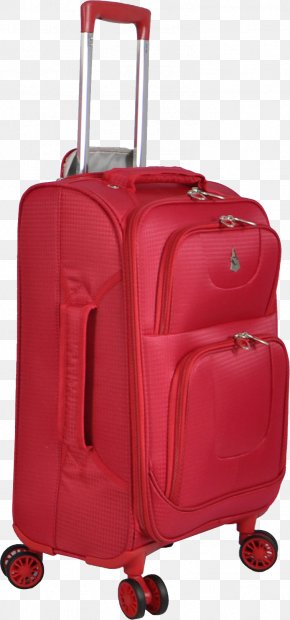 Pink Luggage Image - Baggage Suitcase Hand Luggage PNG