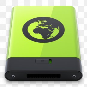 Green Server - Electronic Device Gadget Multimedia Font PNG