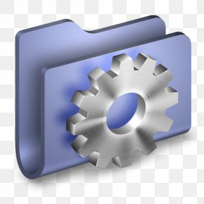 Developer Blue Folder - Hardware Accessory Angle PNG