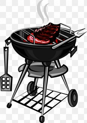 Meat On The Grill - Barbecue Grilling Clip Art PNG
