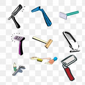 Razor Vector Material Collection - Safety Razor Shaving PNG