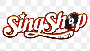 Record Shop - SingShop Logo Summer School Font PNG