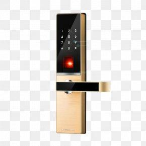 Home Lock - Electronic Lock Door Fingerprint Combination Lock PNG